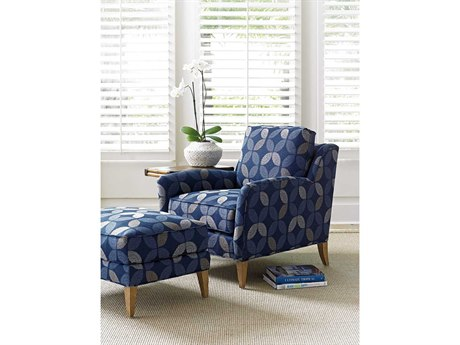 Tommy Bahama Twin Palms Chair and Ottoman Set TOCOCOLIVINGSET