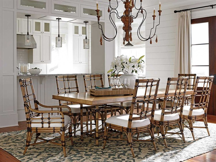 Tommy Bahama Twin Palms Dining Room Set