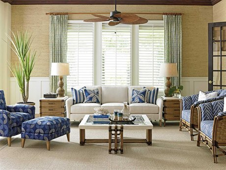 Tommy Bahama Twin Palms Living Room Set