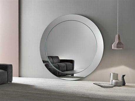 Tonelli Gerundio 77.2'' Round Floor Mirror TONGERUNDIOFLOORROU