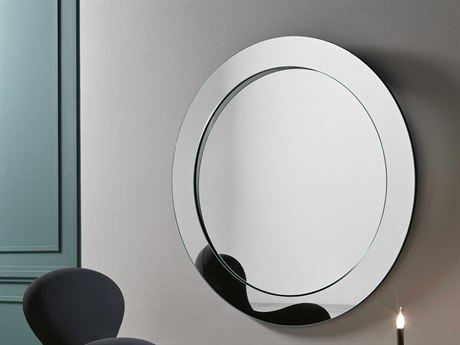 Tonelli Gerundio 61.02'' Round Wall Mirror TONGERUNDIOWALLROU