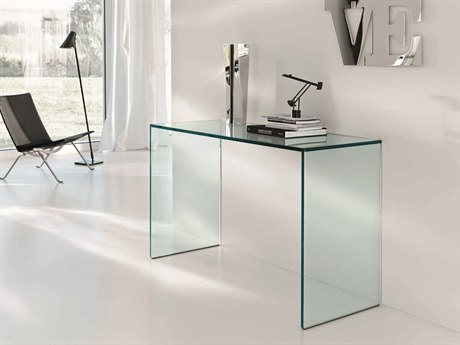 Tonelli Gulliver Rectangular Glass Console Table TONGULLIVER
