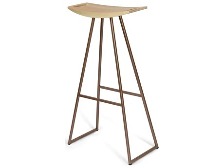 Tronk Design Rose Copper Side Bar Height Stool