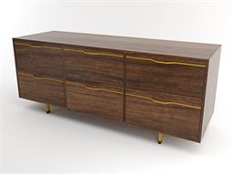 Chapman Storage Collection Mustard Triple Dresser