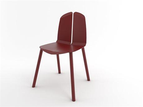 Tronk Design Blood Red Side Dining Chair TRONOACHRBRBR