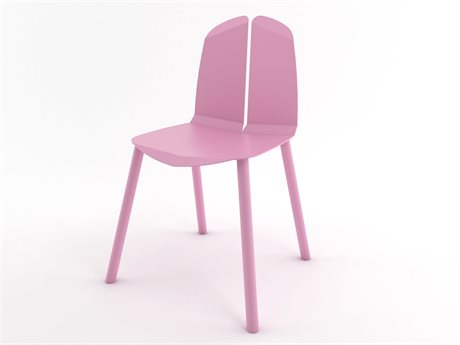 Tronk Design Pink Side Dining Chair TRONOACHRPKPK