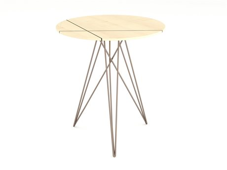 Tronk Design Rose Copper 18'' Wide Round End Table