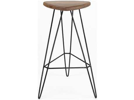 Tronk Design Madison Black Side Bar Height Stool
