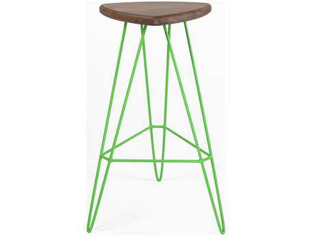 Tronk Design Madison Green Side Bar Height Stool