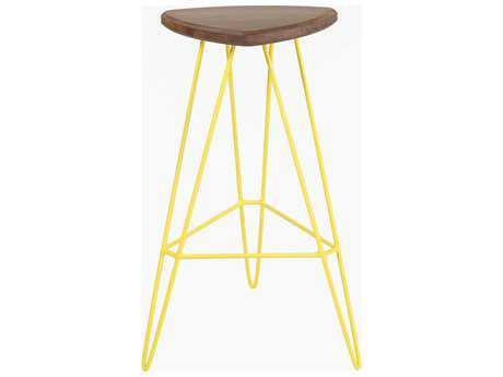 Tronk Design Madison Yellow Side Bar Height Stool