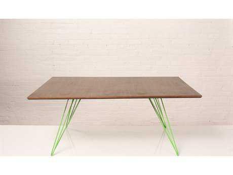 Tronk Design Williams Maple 46L x 40 Wide Rectangular Coffee Table