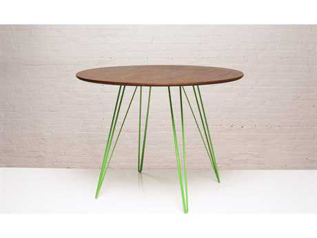 Tronk Design Williams Walnut Round Dining Table