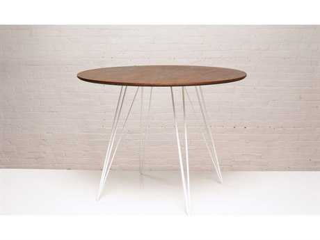 Tronk Design Williams Walnut Round Dining Table TROWILDINWALSMCIRWH