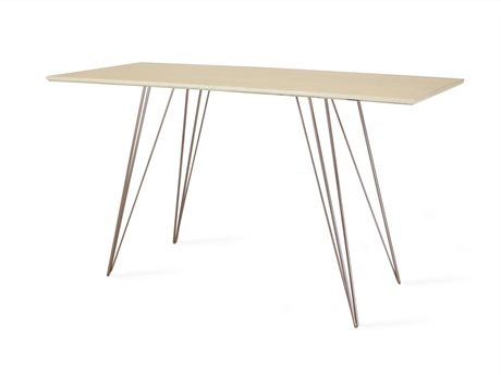 Tronk Design Williams Table Collection Rose Copper Computer Desk