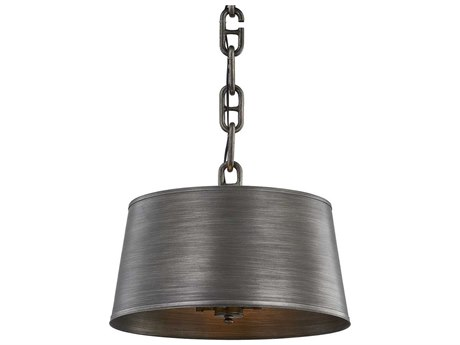 Troy Lighting Admirals Row Antique Pewter Four-Light 20'' Wide Pendant