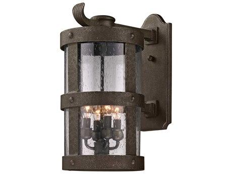 Troy Lighting Barbosa Barbosa Bronze Four-Light 10'' Wide Outdoor Wall Light