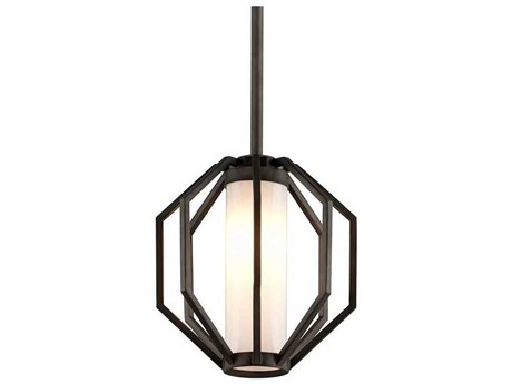 Troy Lighting Boundary Textured Graphite 11'' Wide LED Outdoor Hanging Light
