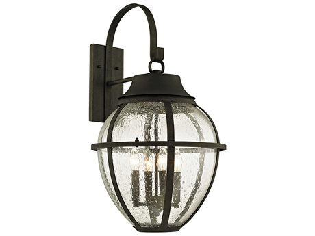 Troy Lighting Bunker Hill Vintage Bronze Four-Light 16'' Wide Outdoor Wall Light