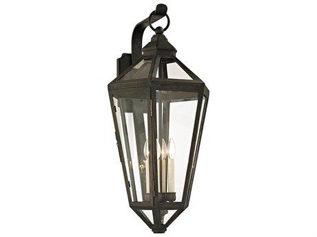 Troy Lighting Calabasas Vintage Bronze Four-Light 15'' Wide Outdoor Wall Light