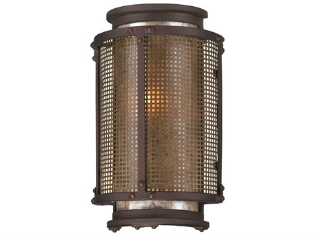 Troy Lighting Copper Mountain Copper Mountain Bronze 6'' Wide Outdoor Wall Light