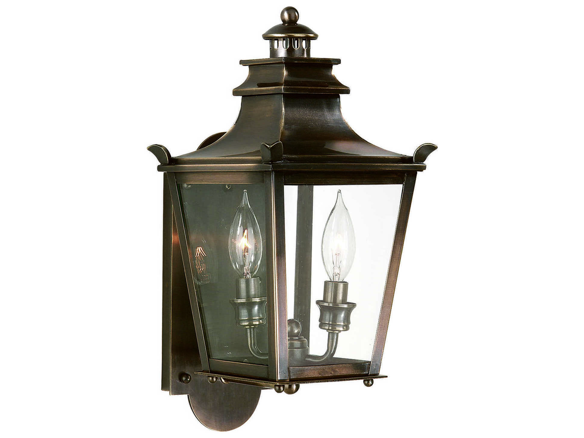 Troy Lighting Dorchester English Bronze Two Light 8 Wide
