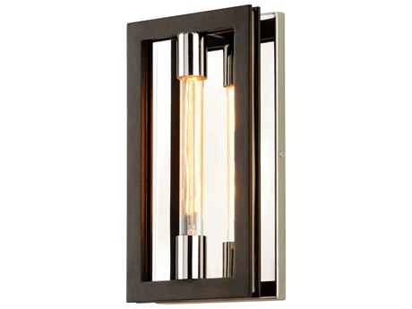 Troy Lighting Enigma Bronze 8'' Wide Wall Sconce