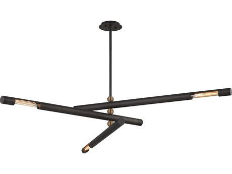 Troy Lighting Hendrix Chemical Bronze 62'' Wide Pendant