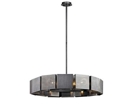Troy Lighting Impression Graphite & Satin Nickel 14-Light 36'' Wide Pendant Light