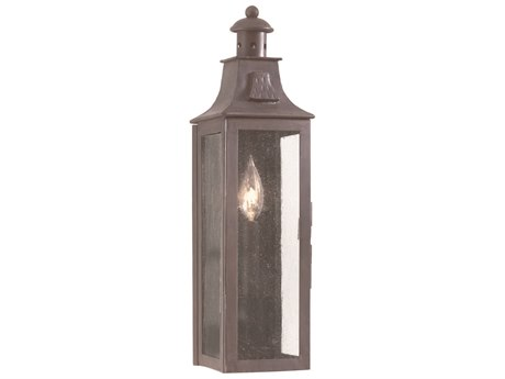 Troy Lighting Newton Old Bronze 5'' Wide Outdoor Wall Light TLBCD9007OBZ