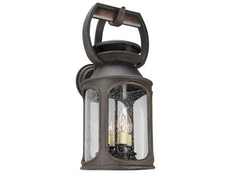 Troy Lighting Old Trail Centennial Rust Four-Light 10'' Wide Outdoor Wall Light