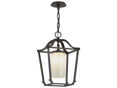 Troy Lighting Princeton French Iron Glass Outdoor Hanging Light