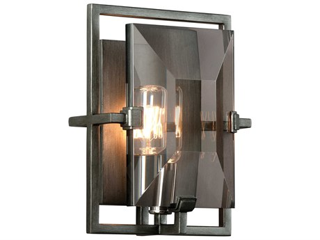 Troy Lighting Prism Graphite 7'' Wide Wall Sconce TLB2822