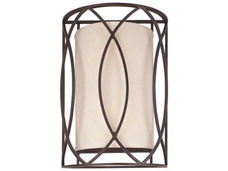 Troy Lighting Sausalito Deep Bronze Two-Light 10'' Wide Wall Sconce TLB1289DB