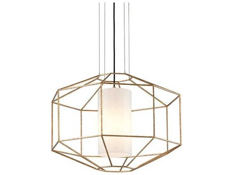 Troy Lighting Silhouette Gold Leaf 28'' Wide Pendant Light