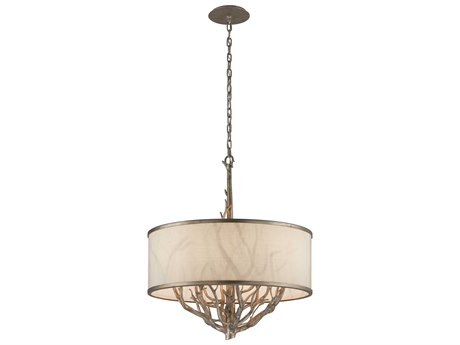 Troy Lighting Whitman Vienna Bronze Six-Light 24'' Wide Chandelier TLF4106