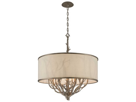 Troy Lighting Whitman Vienna Bronze Eight-Light 31'' Wide Chandelier TLF4108