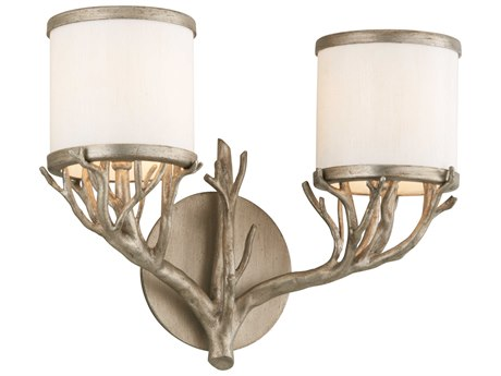 Troy Lighting Whitman Vienna Bronze Two-Light 12'' Wide Vanity Light TLB4112