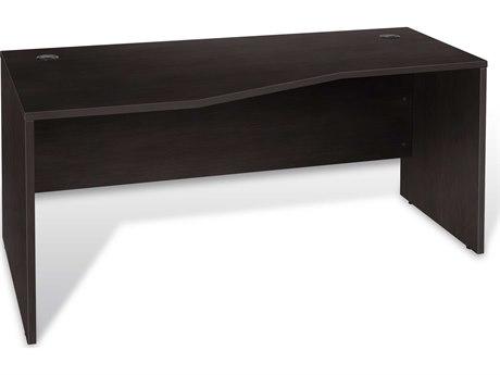 Unique Furniture 100 Series 63'' x 32'' Espresso Left Crescent Computer Desk JE1633224LESP