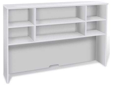 Unique Furniture 100 Series White 63'' x 13'' Hutch JEH6343WH