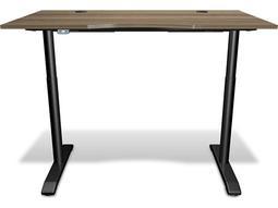 100 Series Walnut 55'' x 31.5'' Electric Height Adjustable Standing Desk