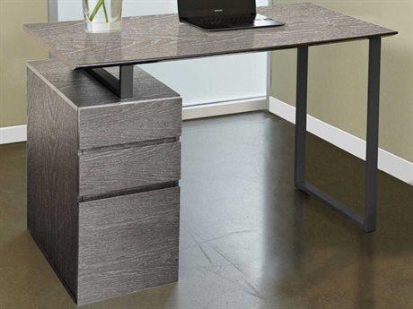 Unique Furniture 200 Collection Grey Secretary Desk