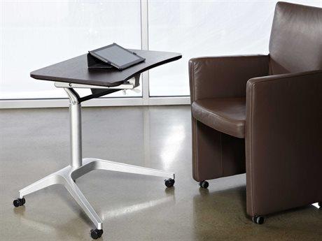 Unique Furniture 200 Series 27.5'' x 19'' Espresso Adjustable Laptop Stand