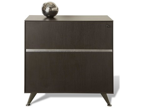 Unique Furniture 300 Series Espresso Lateral File Cabinet