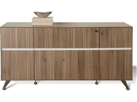 Unique Furniture 300 Series Walnut Storage Credenza
