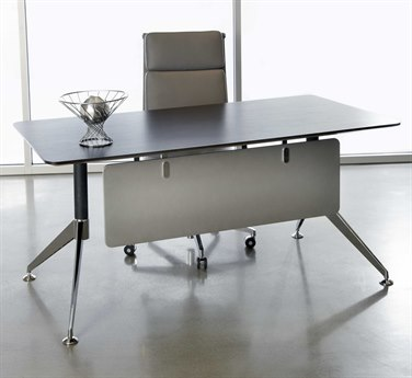 Unique Furniture 300 Series 63'' x 32'' Rectangular Espresso Computer Desk JE301ESP