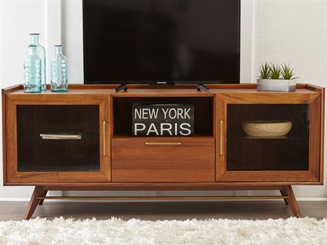 Unique Furniture Denali Walnut TV Stand