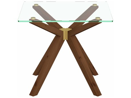 Unique Furniture Denali Walnut Square End Table