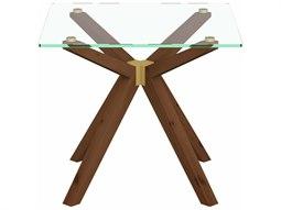 Denali Walnut Square End Table