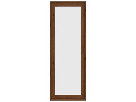Unique Furniture Denali Walnut Floor Mirror