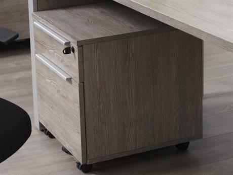 Unique Furniture Kalmar Grey File Cabinet